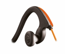 028 Grixx Optimum Headphone Ear Bud Sports 15 mm with Microphone Orange