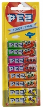 Pez blister 8pack fruit 68gr per 24